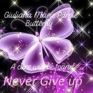 Giuliana Marie Purple Butterfly Foundation logo